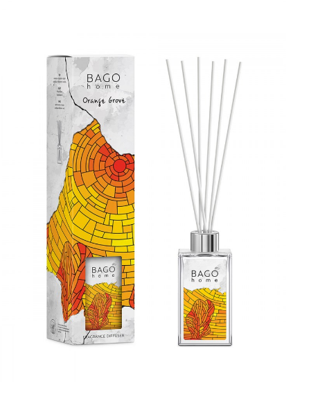 Апельсиновая роща BAGO home ароматический диффузор 75 мл