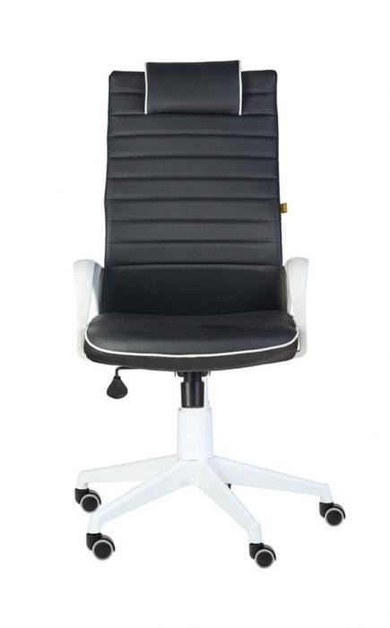 Кресло руководителя «Кресло КВЕСТ WHITE черный»