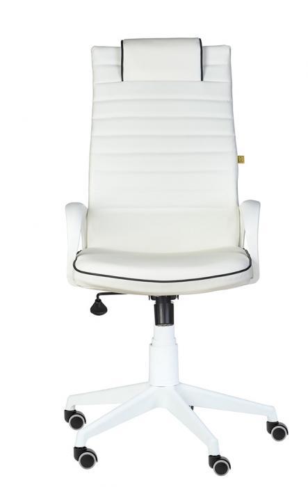 Кресло руководителя «Кресло КВЕСТ WHITE белый»