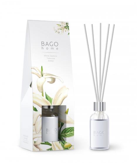 Белый жасмин BAGO home ароматический диффузор 30 мл