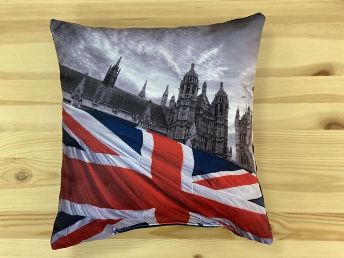 "Декоративная подушка ""Флаг-Великобритания"""