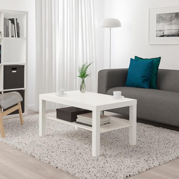 Журнальный столик ЛАКК 90х55 (белый)