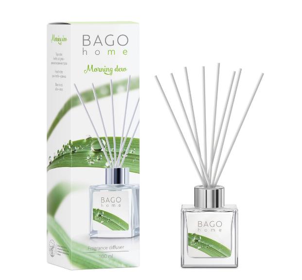 Утренняя роса BAGO home ароматический диффузор 100 мл
