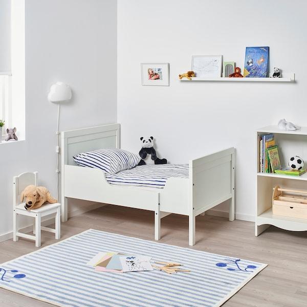 Кровать СУНДВИК раздвижная кровать с реечным дном