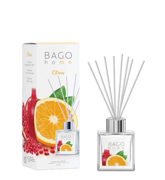 Цитрус BAGO home ароматический диффузор 50 мл